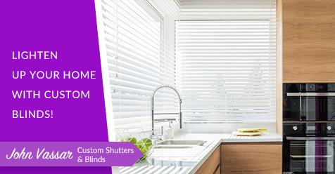 Custom Blinds to Accommodate Your Needs! | John Vassar Shutters & Blinds