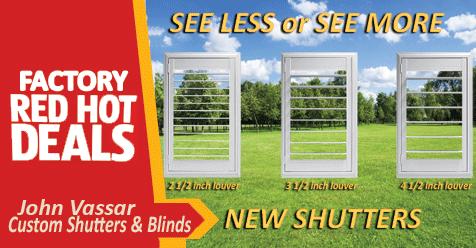 Spring Sale Still On – John Vassar Shutters and Blinds | Northern CA