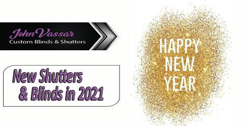Happy New Years | John Vassar Shutters and Blinds