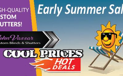 Summer Sale is On | John Vassar Shutters & Blinds
