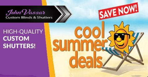 Start The Summer Celebration | Save on New Shutters & Blinds
