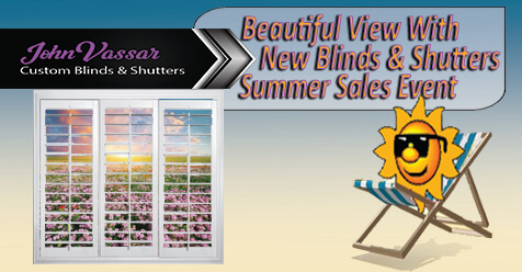 Beautiful View | John Vassar Shutters & Blinds